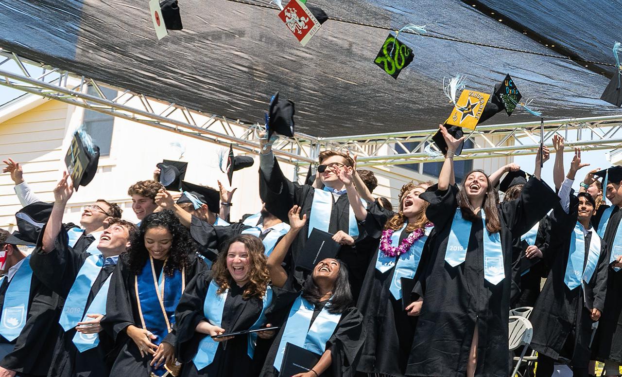 Kehillah Jewish High School graduation in 2019. (Photo/Alex Johnson)