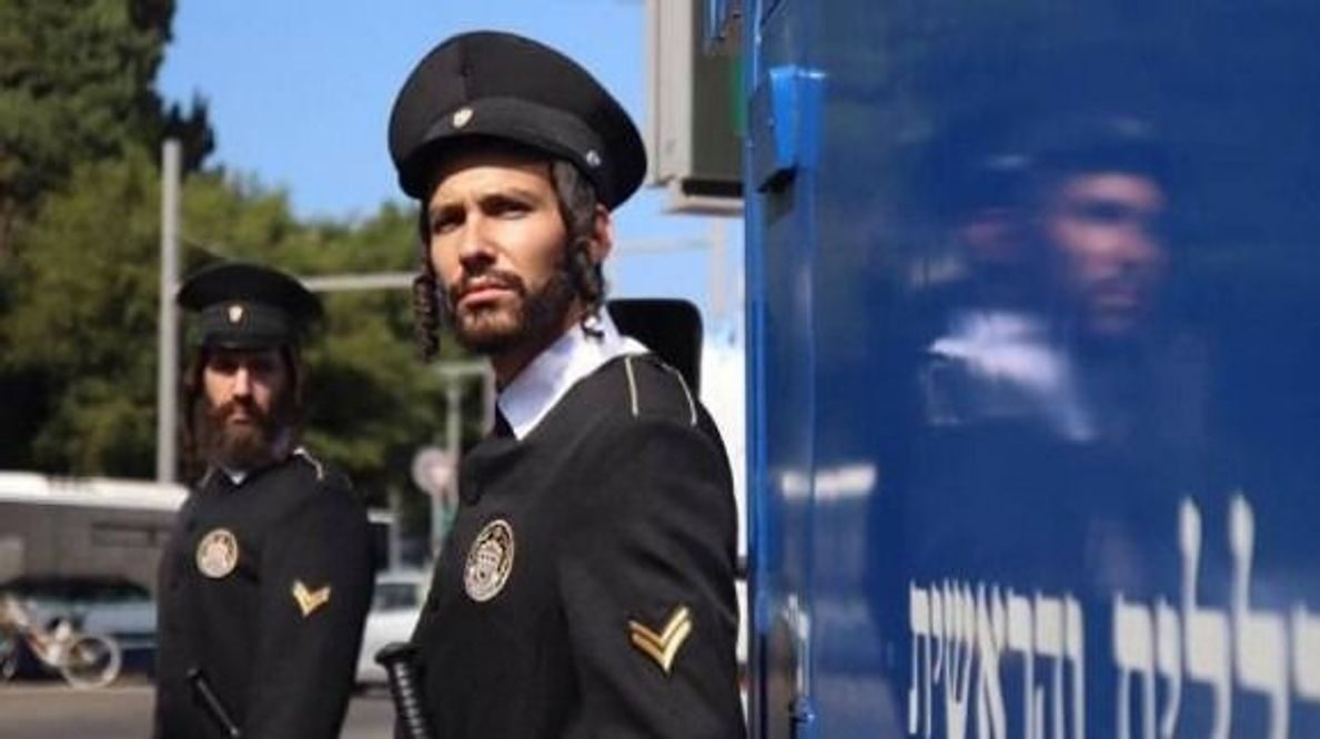 "A police officer in the fictional haredi-run state in the Israeli TV series ""Autonomies."""