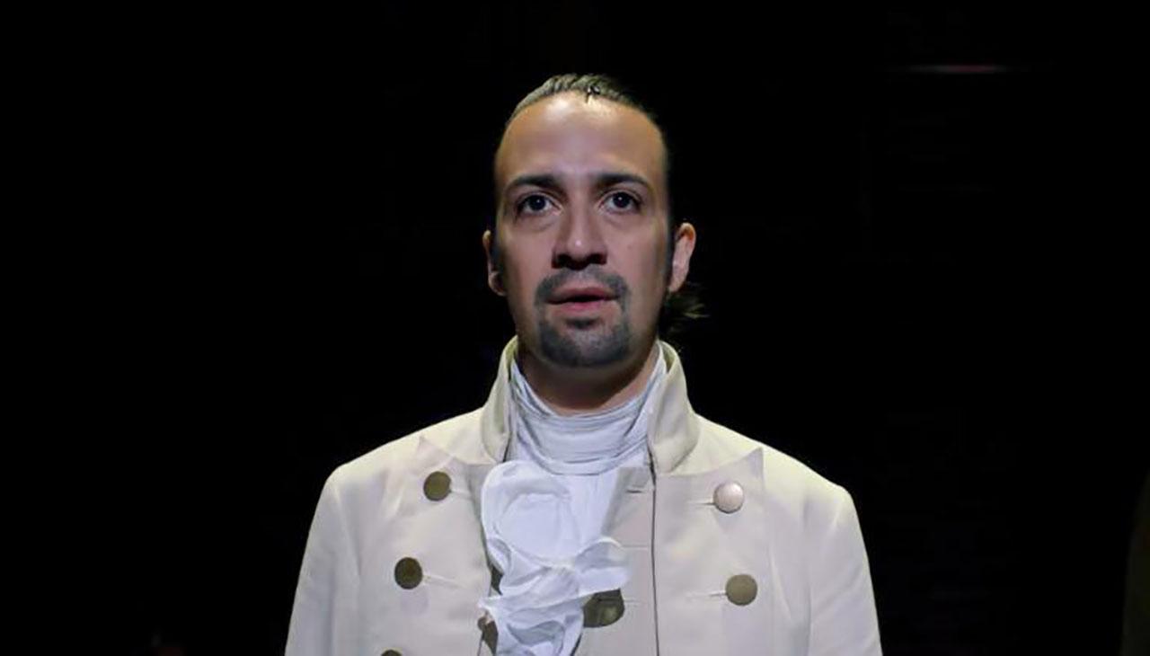 "Lin-Manuel Miranda in ""Hamilton"" (Screenshot/Disney-YouTube)"
