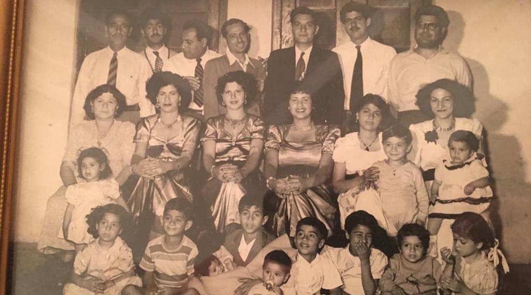 Ebrahim Nonoo's family in Bahrain in the 1950s. (Photo/Courtesy Nonoo)