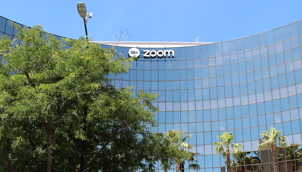 Zoom headquarters in San Jose. (Photo/Wikimedia Commons)