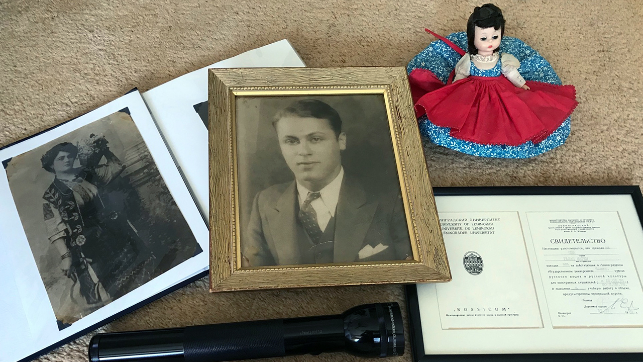 Some of Karen Galatz's treasured possessions. (Photo/Karen Galatz)
