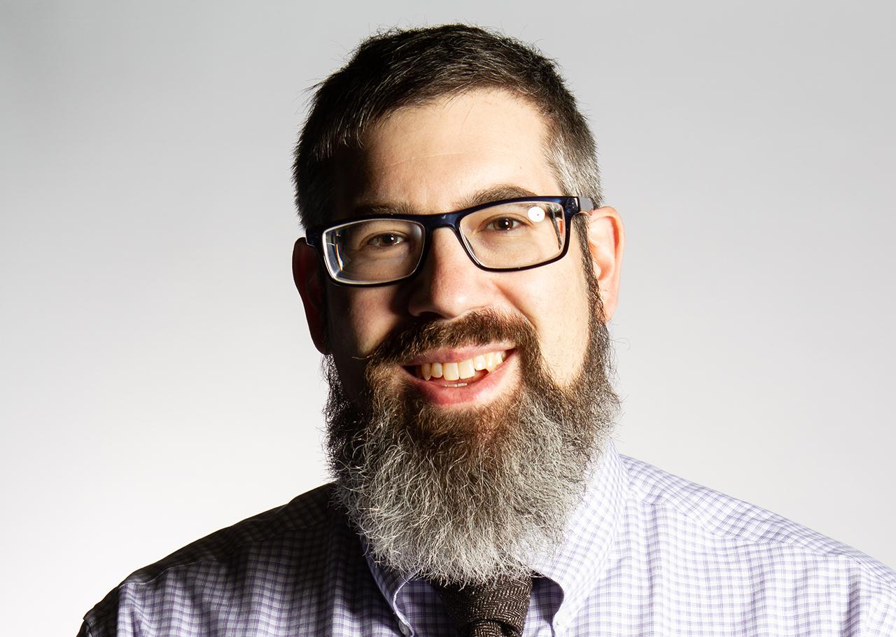 Jordan Rosenblum is a professor of Jewish studies and art history at the University of Wisconsin. (Photo/Courtesy Rosenblum)