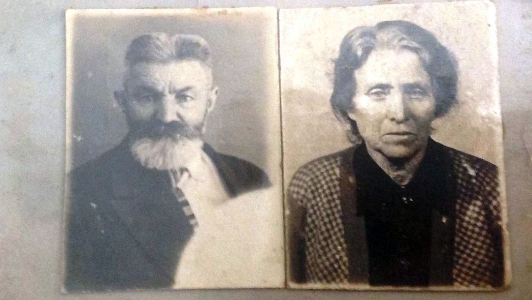 Mordechai and Sheindle Sova were shot in 1941 on a central street of Kyiv, Ukraine and buried in a ditch after they ignored the order to gather to be murdered at Babyn Yar. (Photo/Courtesy Igor Kulakov and Babyn Yar Holocaust Memorial Center)