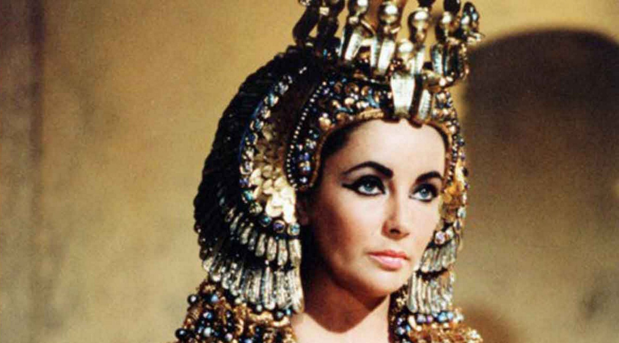 Elizabeth Taylor as Cleopatra in the 1963 film on the Egyptian queen. (Photo/JTA-Universal History Archive-Universal Images Group via Getty Images)