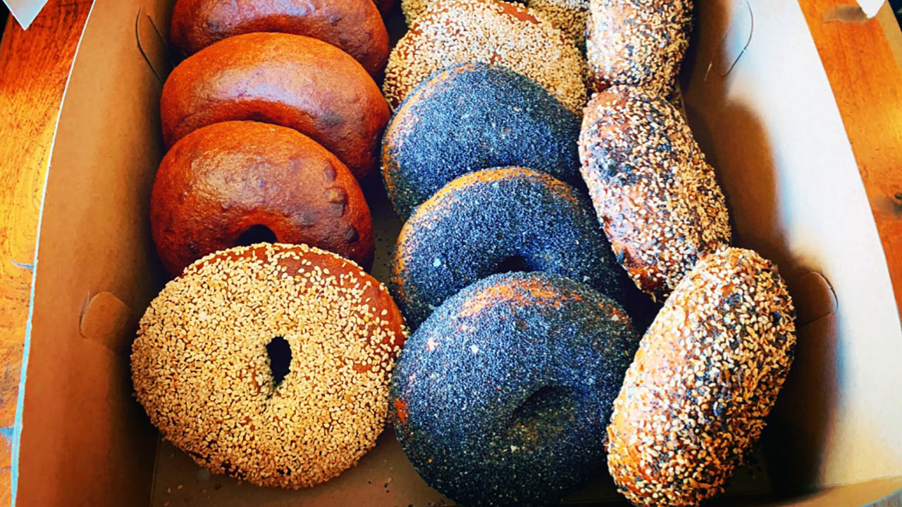 Midnite Bagel is one of three new bagel operations that have popped up in the Bay Area in recent months.