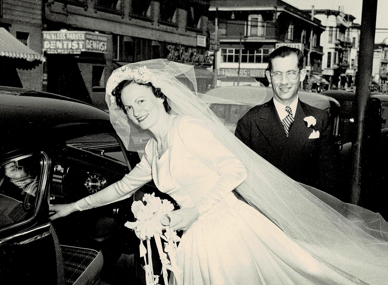 Hilda Richards, now on the cusp of 103, married Paul Richards on April 18, 1948. (Photo/Courtesy Richards)