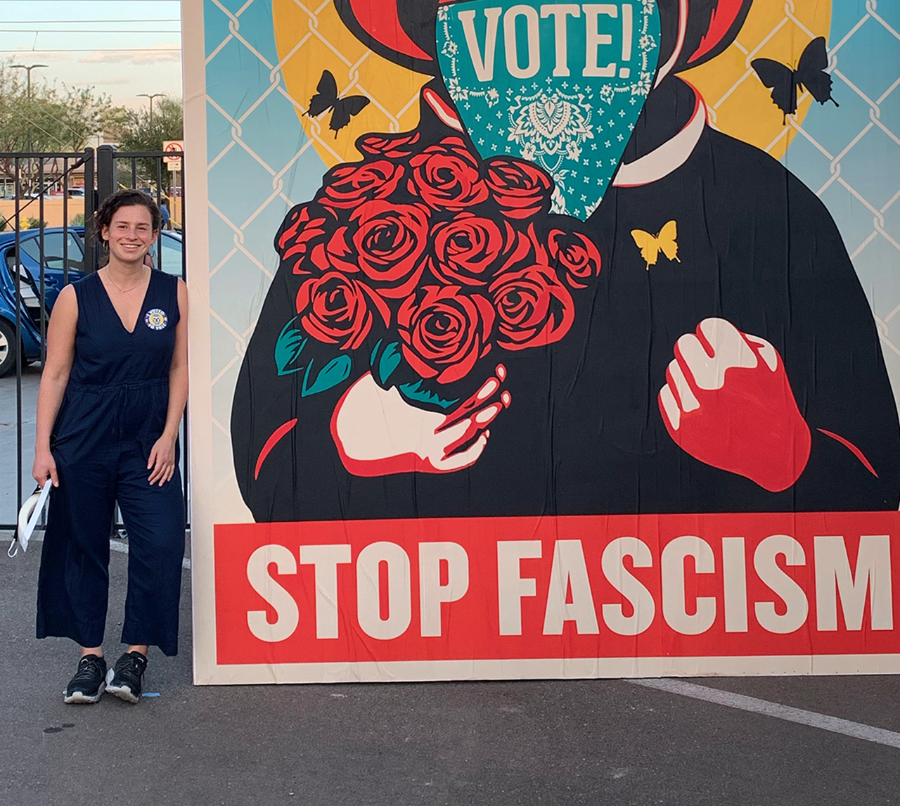 Ilana Master went to Arizona to organize and knock on doors with the Sunrise Movement. (Photo/Courtesy Master)