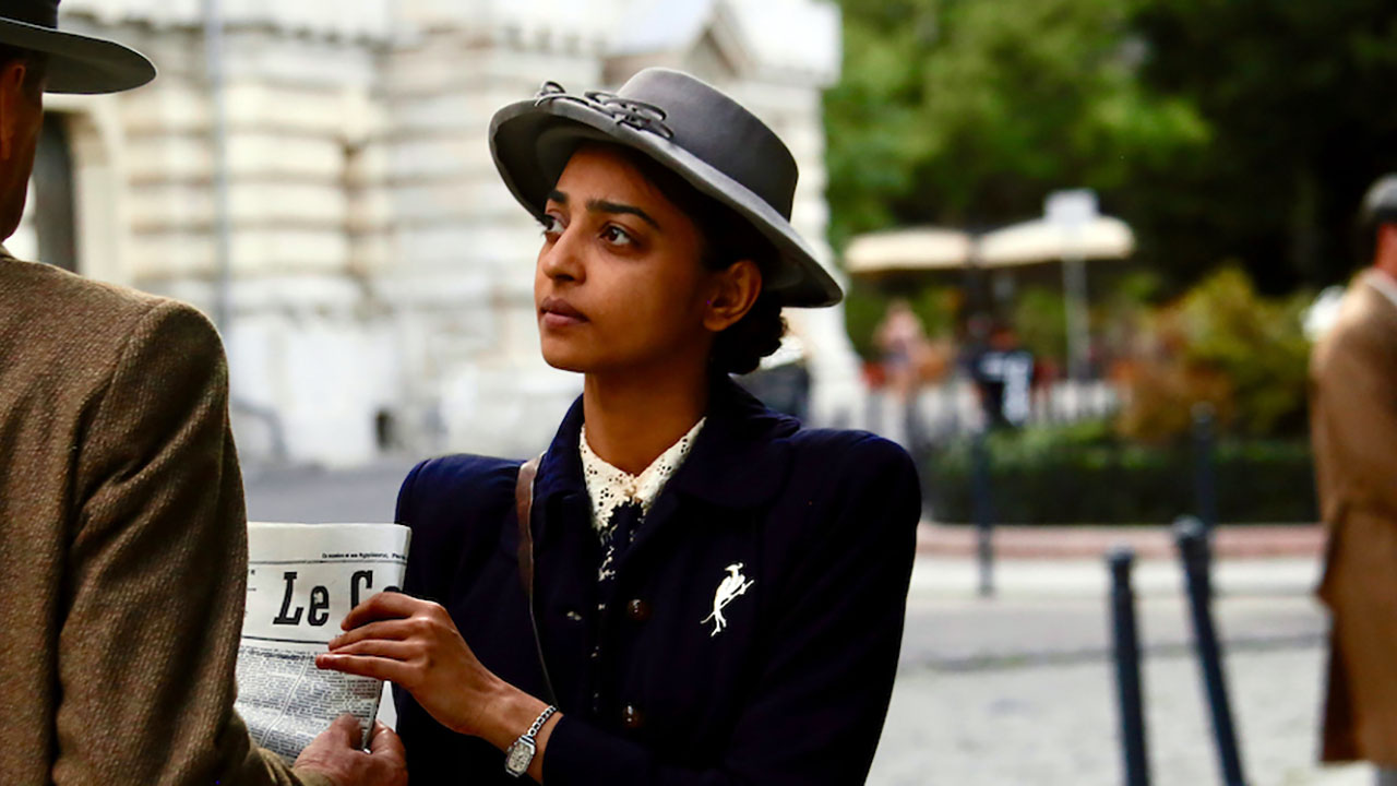 Radhika Apte as British spy Noor Inayat Khan. (Photo/Courtesy IFC Films)