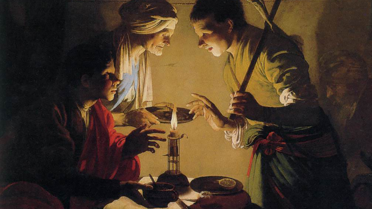 """Esau Selling His Birthright"" by Hendrick ter Brugghen, ca. 1627"