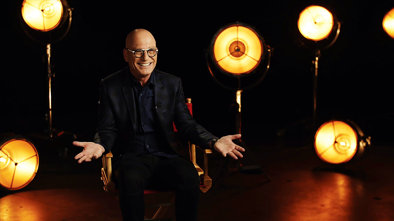 """Canadian actor and comic Howie Mandel in the new documentary """"Howie Mandel: But, Enough About Me.""""(Photo/Courtesy JFI)"""