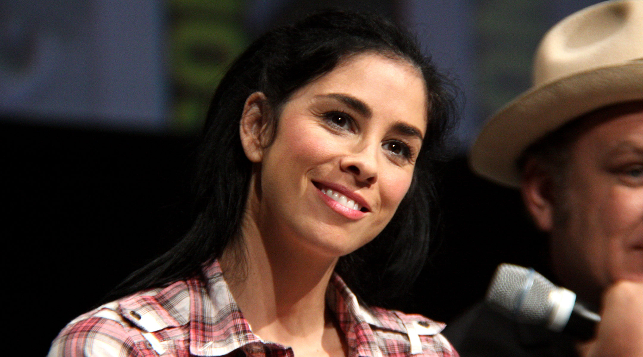 "In Hollywood if a female Jewish character ""is courageous, or she deserves love, or is altruistic in any way, she's played by a non-Jew,"" says comedian Sarah Silverman. (Photo/file)"