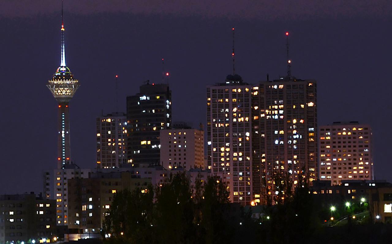 Iranian capital Tehran seen at night. (Photo/Wikimedia Commons)
