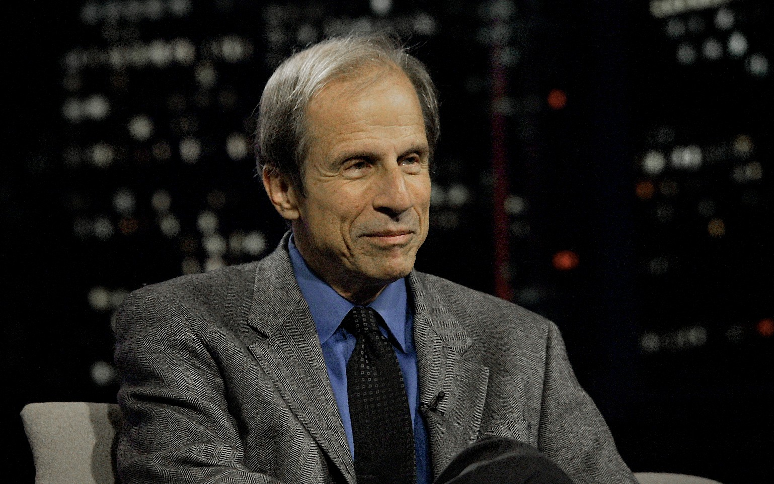 "Michael Krasny, host of the popular ""Forum"" show on KQED, will step off the air in February. (Photo/From file)"