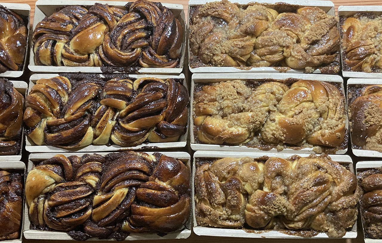 Sadie's Babka in chocolate and cinnamon. (Photo/Courtesy Sara Eisen)