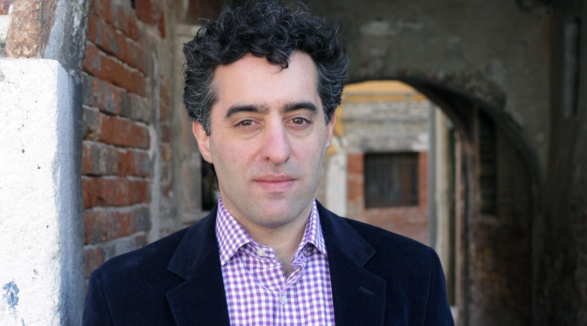 Nathan Englander poses at the Venice Literary Festival, April 15, 2011. (Photo/JTA-Barbara Zanon-Getty Images)