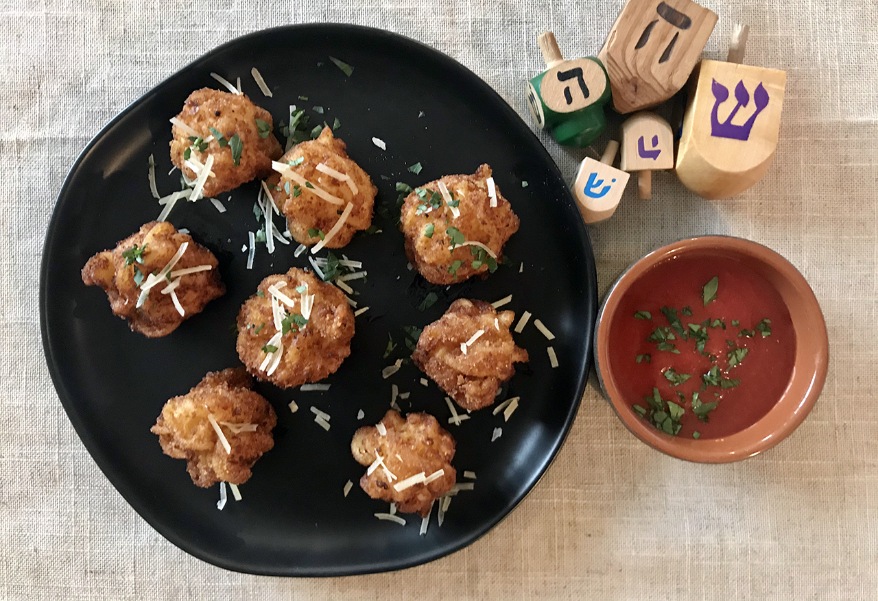 Faith Kramer's Hanukkah Mac and Cheese Balls. (Photo/Faith Kramer)