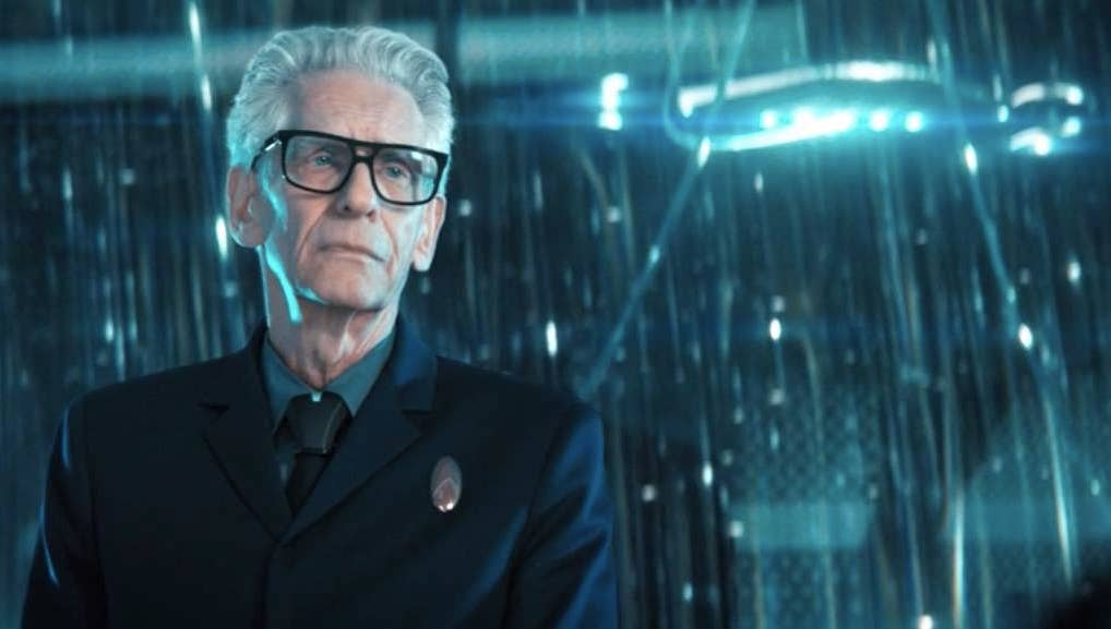 "Legendary director David Cronenberg is now in front of the camera on ""Star Trek: Discovery."""