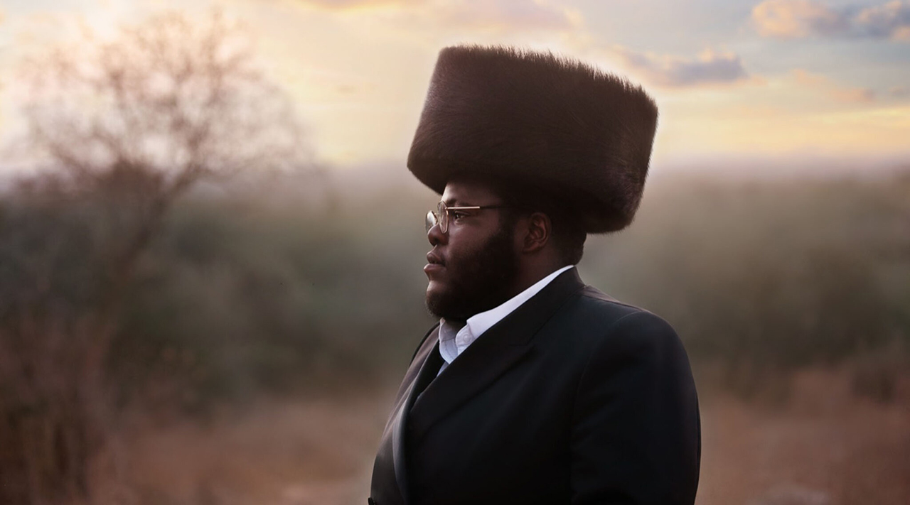 "Nissim Black: ""I usually daven with an early morning minyan, and then I usually learn for a while. And then I go out to the field and meditate."" (Photo/JTA-Tziporah Litman, courtesy of Black)"