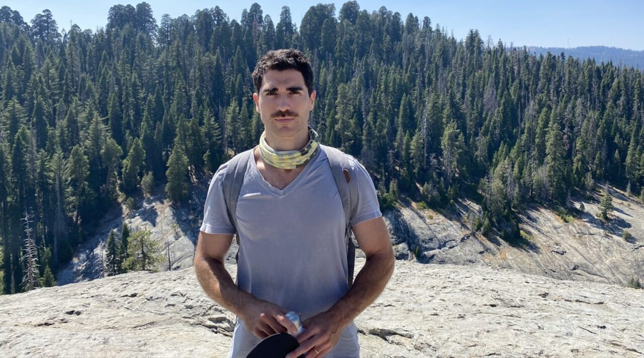 Tobin Mitnick really loves trees, and wants you to, too. (Photo/Courtesy Mitnick)