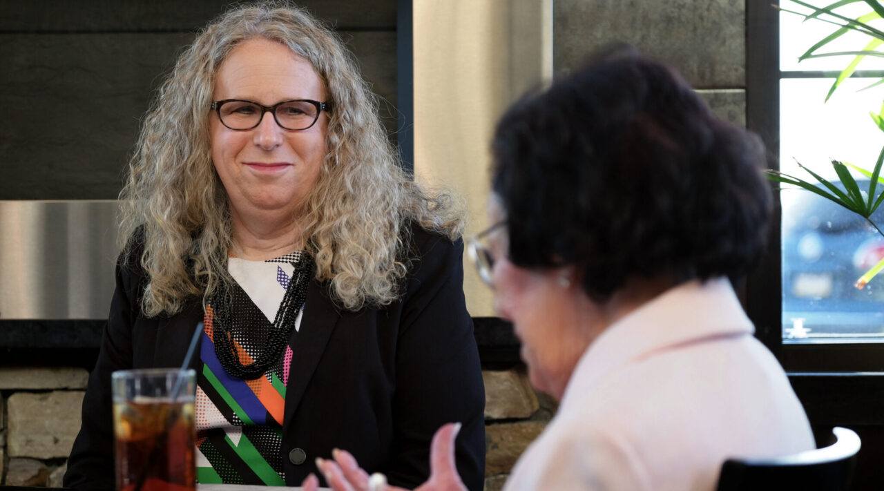 Dr. Rachel Levine in Harrisburg, Pennsylvania, May 16, 2016. She will serve  as deputy health secretary and is the first known transgender person to be nominated for a position that requires Senate confirmation (Photo/JTABonnie Jo Mount-The Washington Post via Getty Images)