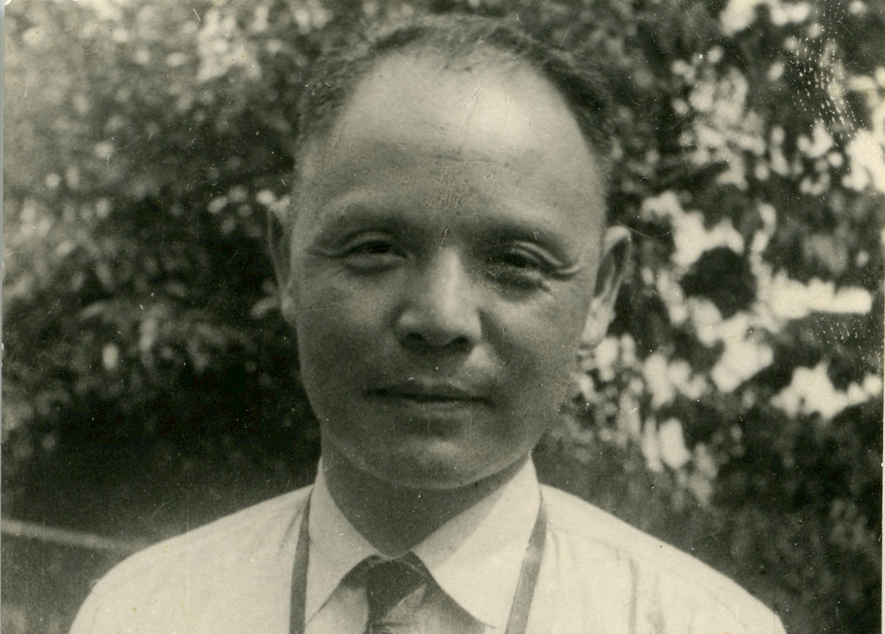 Chinese diplomat Ho Feng Shan, seen here in China in 1947, is one of many foreign diplomats who helped Jews escape the Holocaust.