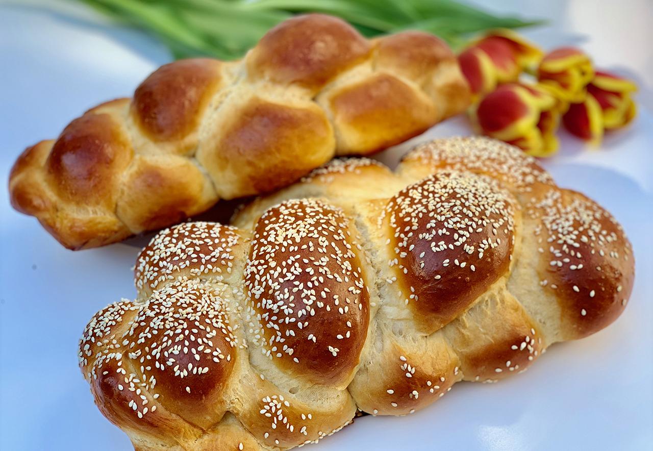 Orit Hendler Leib's Deja Vu Foods challah.