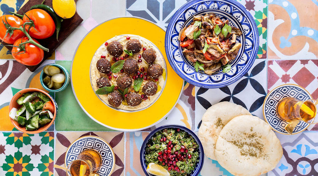 Elli Kriel, a sociologist by training, has succeeded as a chef by fusing traditional Jewish and Emirati recipes. (Photo/JTA-Courtesy Kriel)