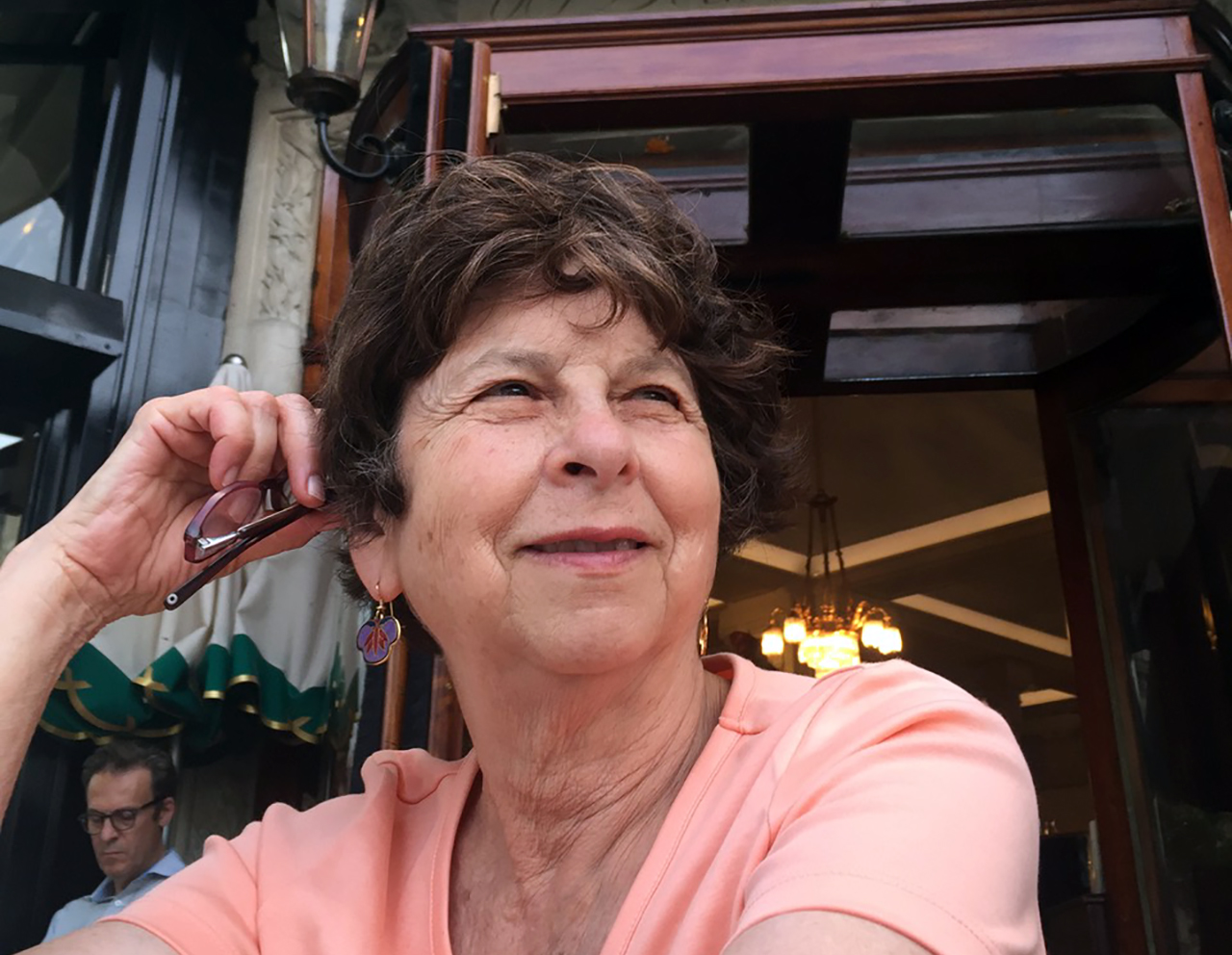 Janet Silver Ghent in Paris in 2016.