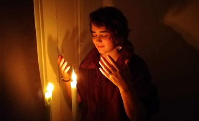 Lena Sclove is a prospective rabbinical student whose husband is Hindu. (Photo/Mahip Rathore)