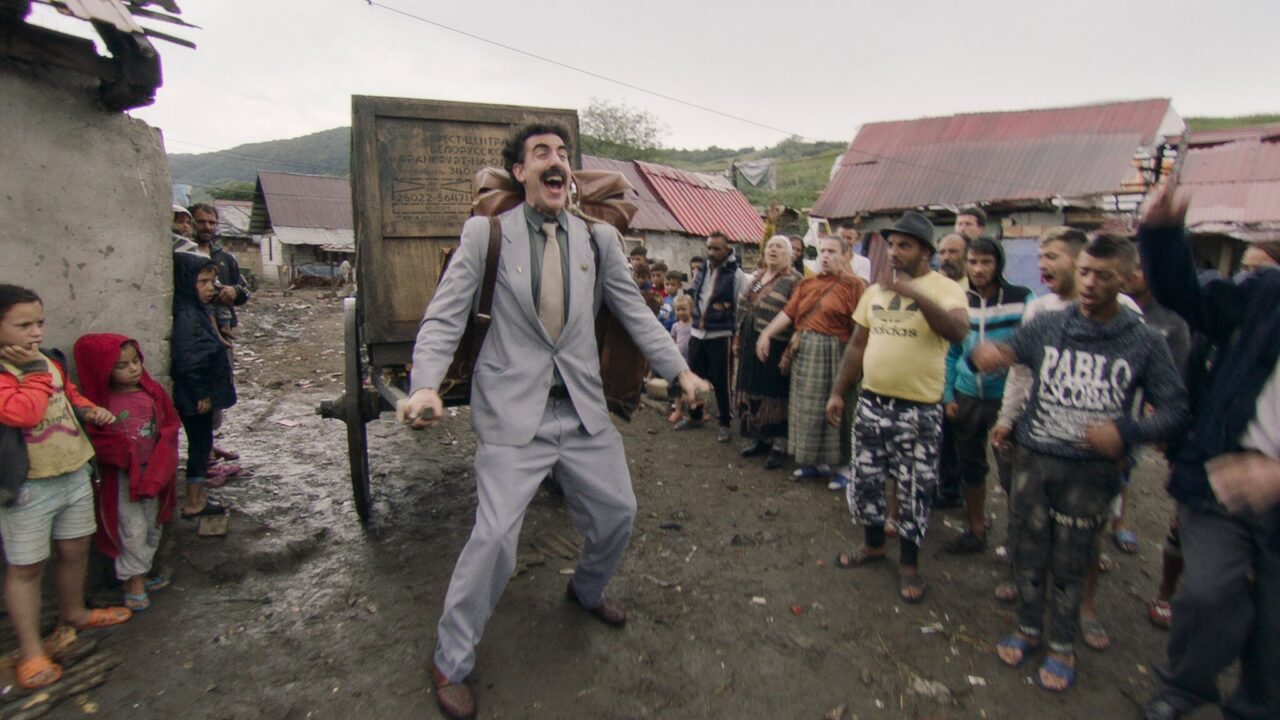 """Borat Subsequent Moviefilm"" starring Sacha Baron Cohen is up for three Golden Globes. (Photo/Amazon Studios)"