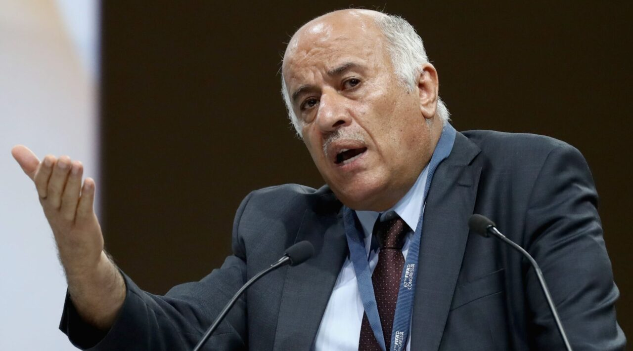 Jibril Rajoub, a senior PLO official, has confirmed the existence of an official statement that came out of a meeting in September between Hamas and the PLO. (Photo/JTA-Alexander Hassenstein-FIFA via Getty Images)