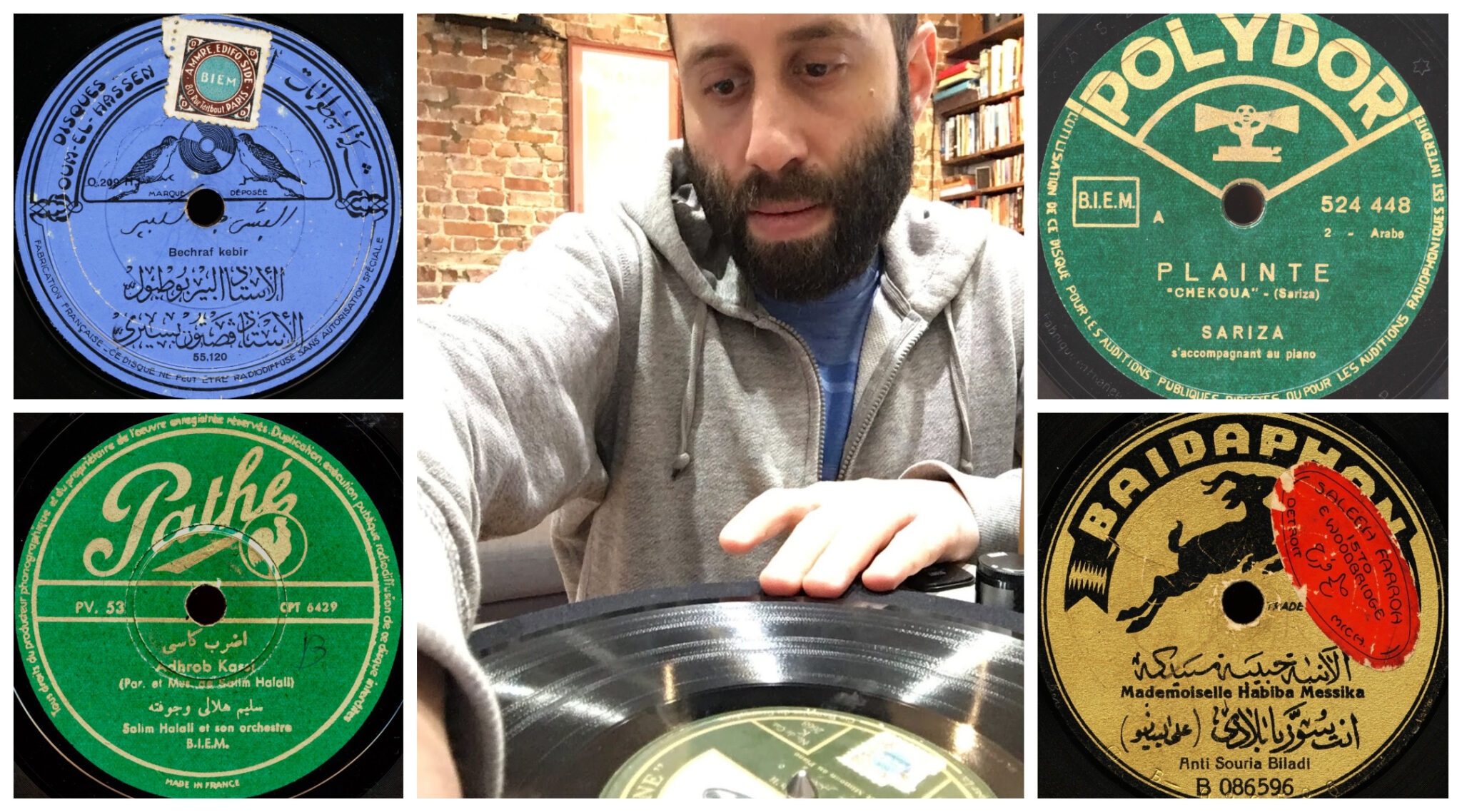Chris Silver, a professor of Jewish History at McGill University, collects records from around the world for the first archive of North African Jewish music, currently housed in his apartment in Montreal.