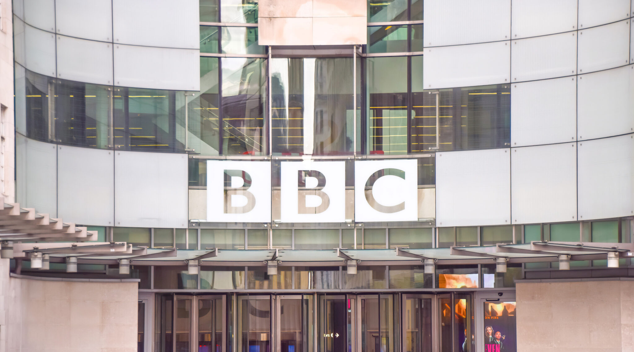 BBC headquarters in Central London in 2017. (Photo/JTA-Vuk Valcic-SOPA Images-LightRocket via Getty Images)