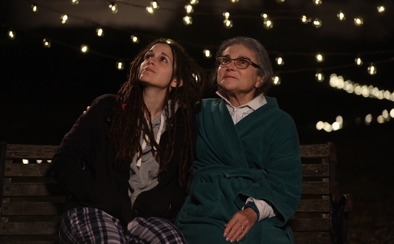 "Tovah Feldshuh (right) and Israeli American actress Chen Drachman, who penned the screenplay for ""The Book of Ruth."""