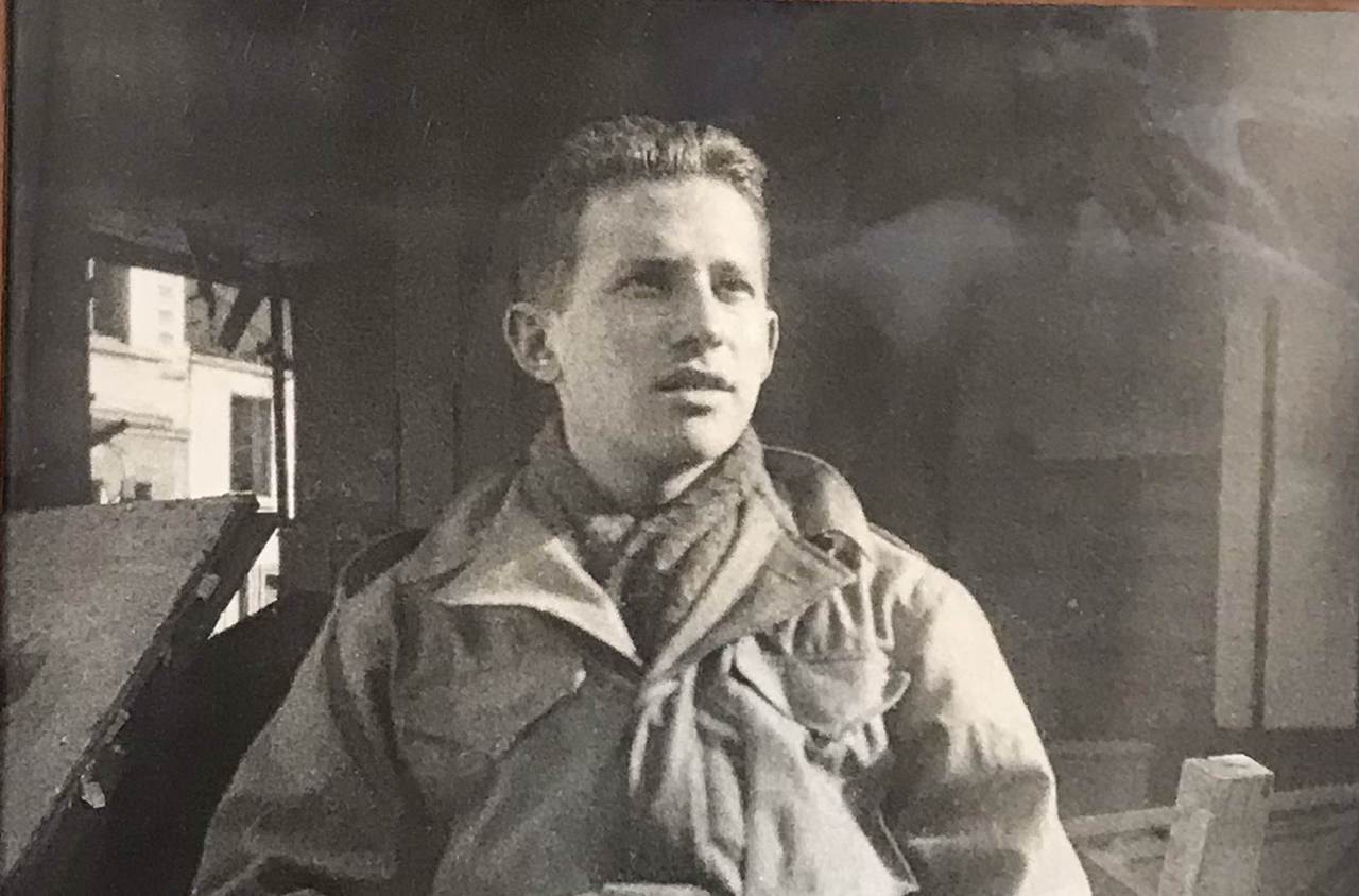 Arthur Roth in Europe during World War II.