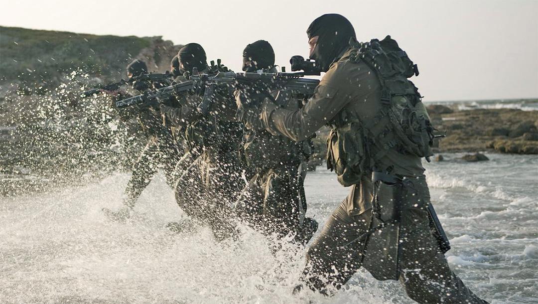 Israeli troops training in 2017. (Photo/JTA-Israel Defense Forces)