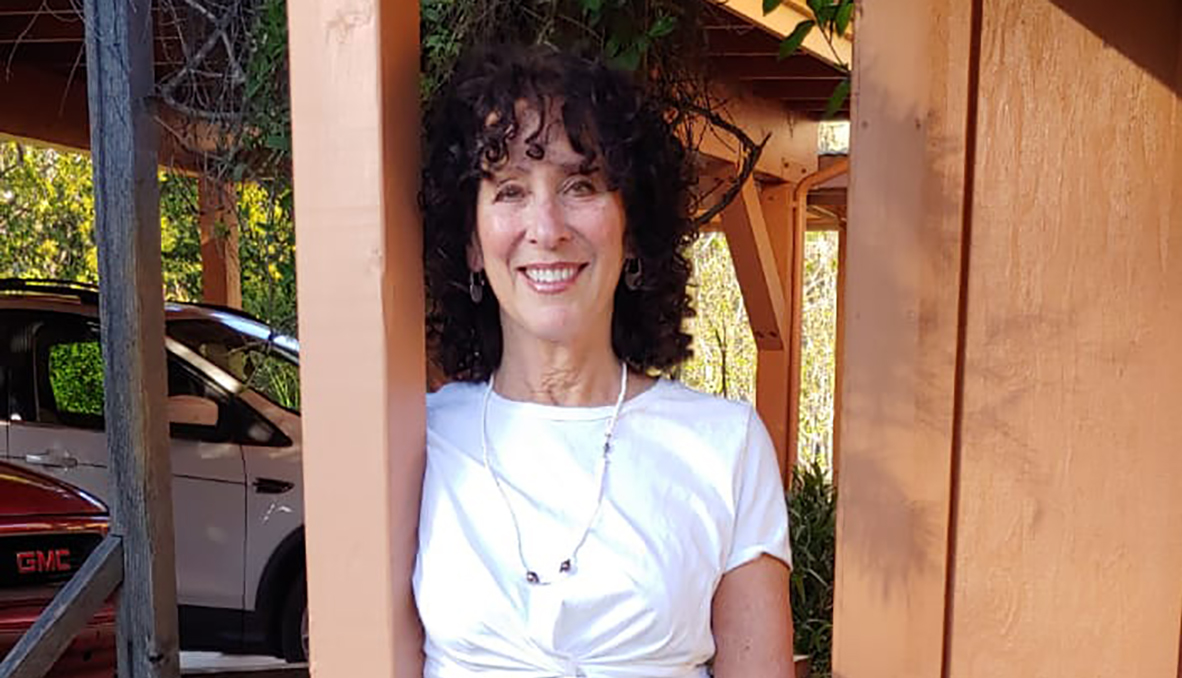 Our former culture editor, recently retired, in her new idyllic surrounds in Amador County.