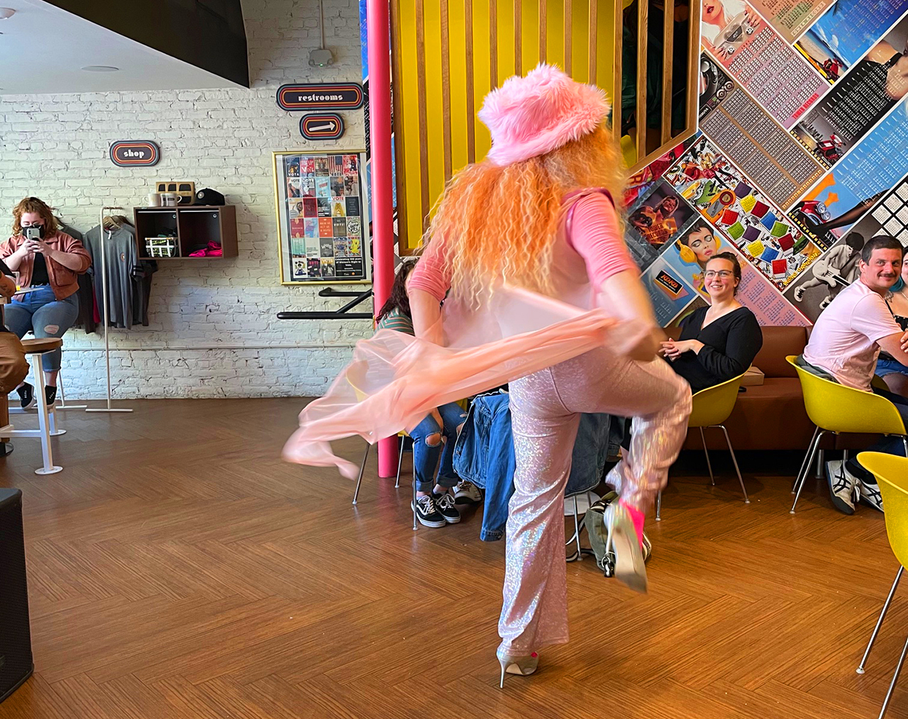 Drag brunch is now a monthly event at Solomon's Deli in Sacramento.