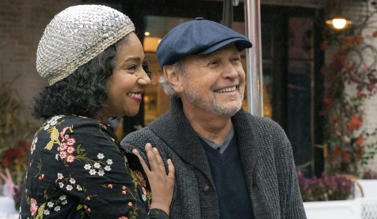 "Tiffany Haddish and Billy Crystal star in ""Here Today."""