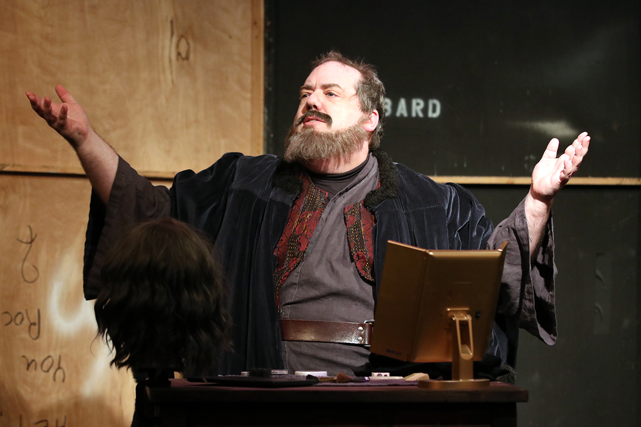 """In """"Shylock,"""" Doug Brook plays Jon Davies, an actor playing the role of Shylock in a production of """"Merchant of Venice."""" (Photo/Edmond Kwong-ImageWurx)"""