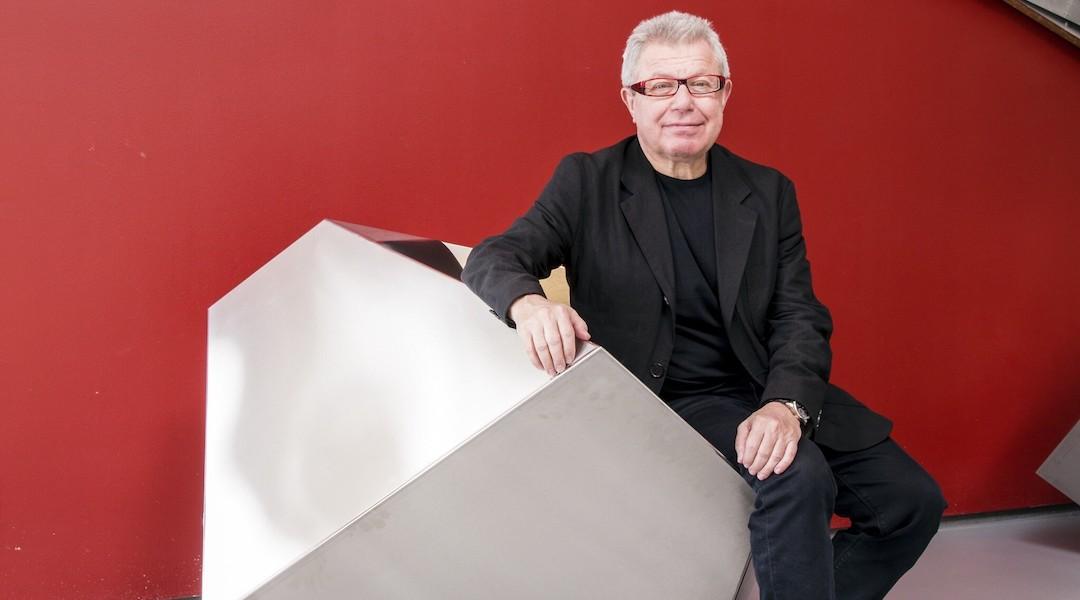 Portrait of architect Daniel Libeskind
