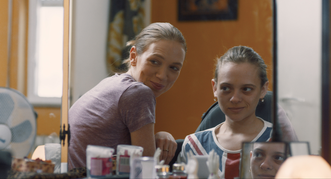 """Israeli actresses Alena Yiv (left) and Shira Haas play a mother and daughter in """"Asia,"""" an award-winning Israeli film now seeing a U.S. release. (Photo/Courtesy Menemsha Films)"""