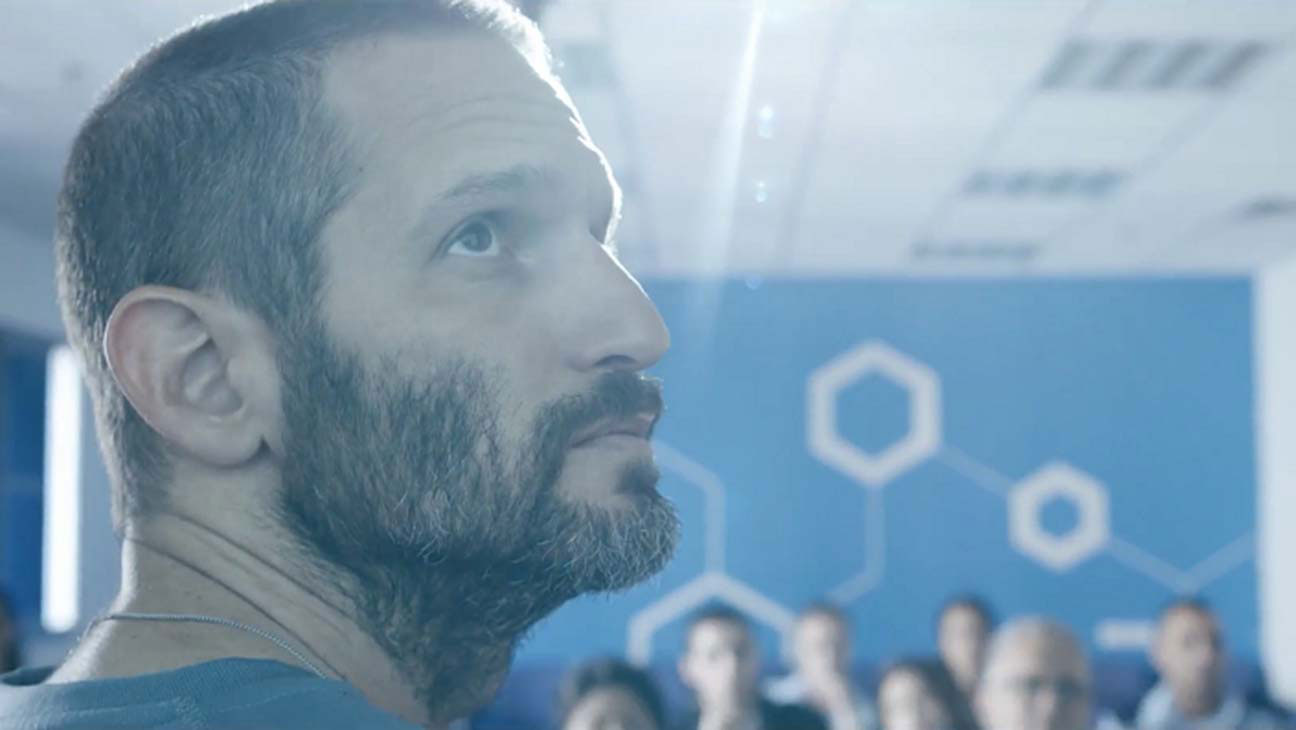 "Guri Alfi plays Detective Rami Davidi in ""Black Space,"" an Israeli series now streaming on Netflix."