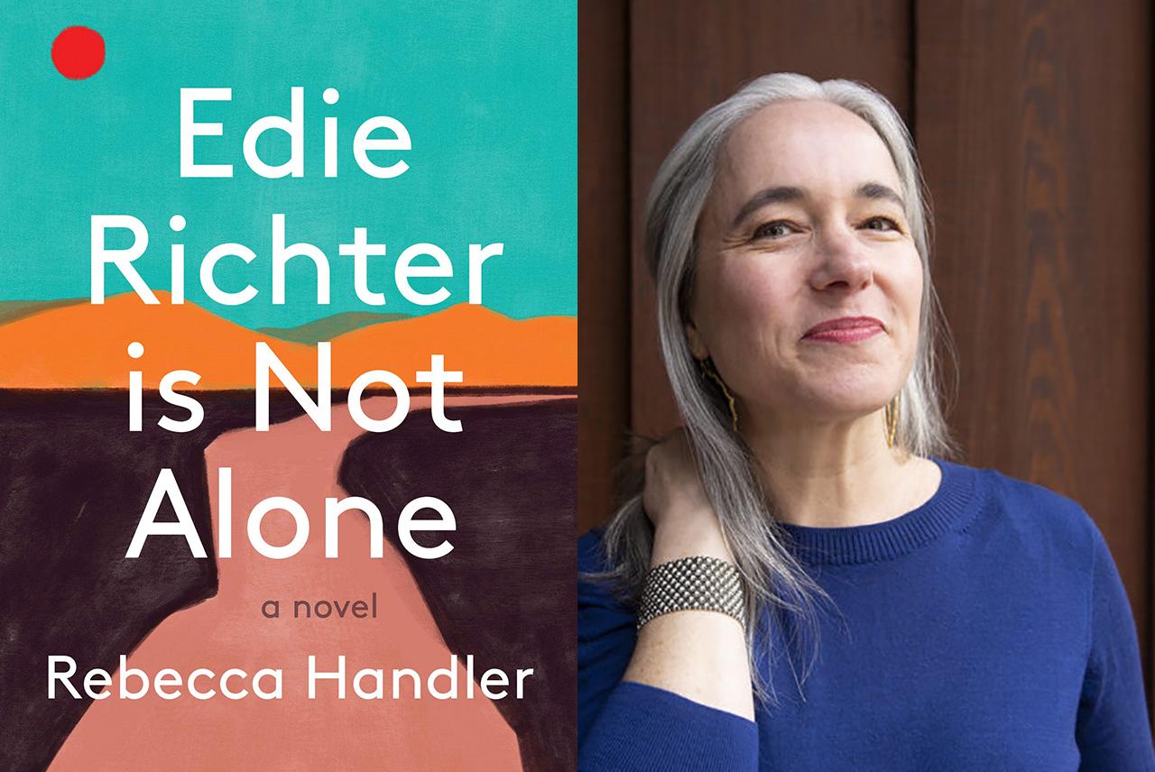 """Rebecca Handler's first novel is """"Edie Richter is Not Alone."""" (Photo/Kristen Sard)"""