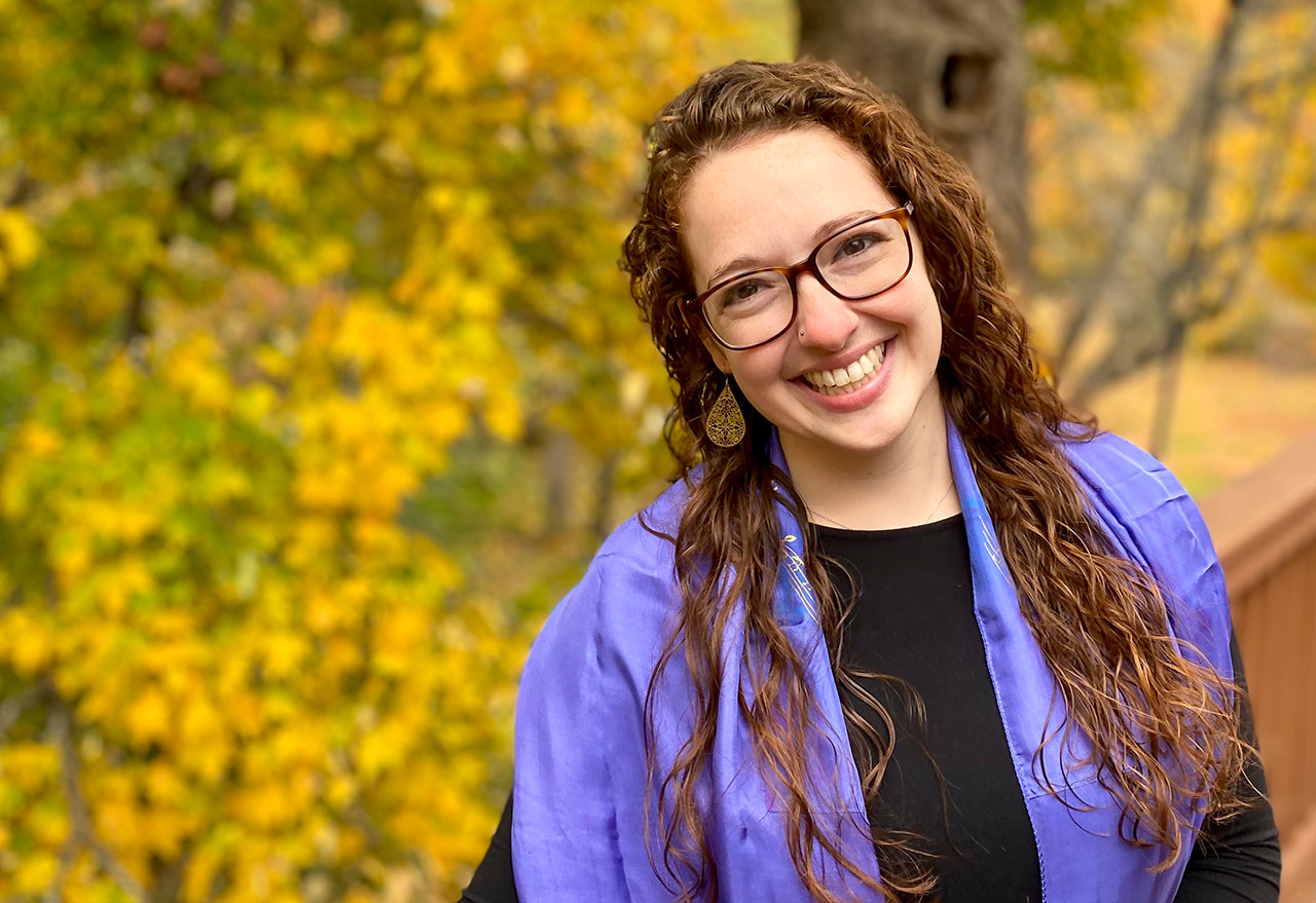 Rabbi Zoe McCoon is a Detroit native who is moving to the Bay Area for her first rabbinical post at Temple Beth Torah in Fremont.