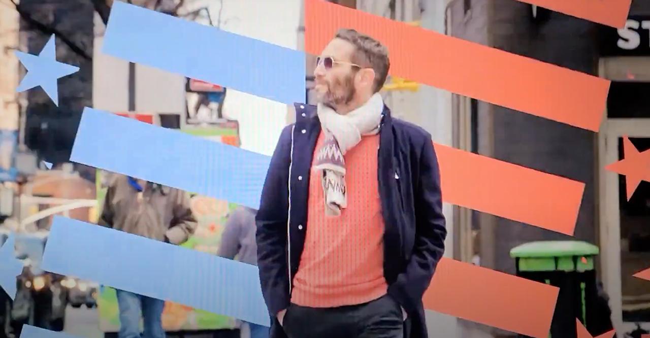 "Guri Alfi in the trailer for his Israeli documentary TV series, ""The New Jew."""