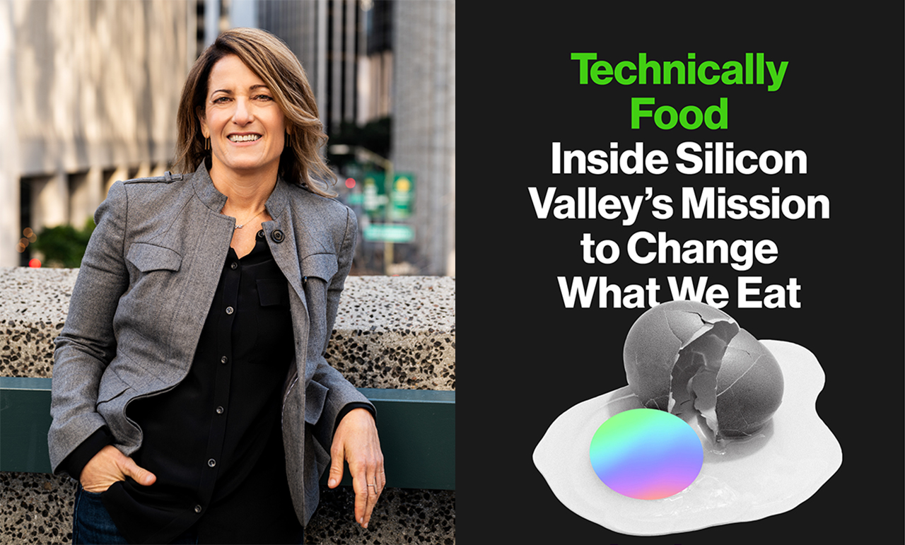"""Larissa Zimberoff is the author of """"Technically Food: Inside Silicon Valley's Mission to Change What We Eat."""""""
