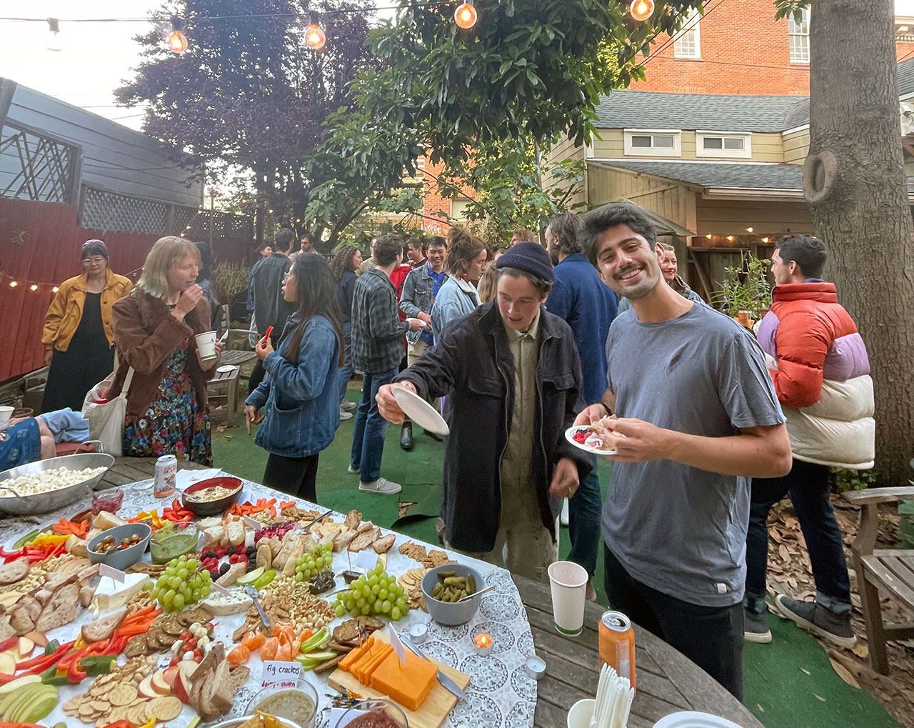 Moishe House Dolores' Summer Soiree event, June 21.