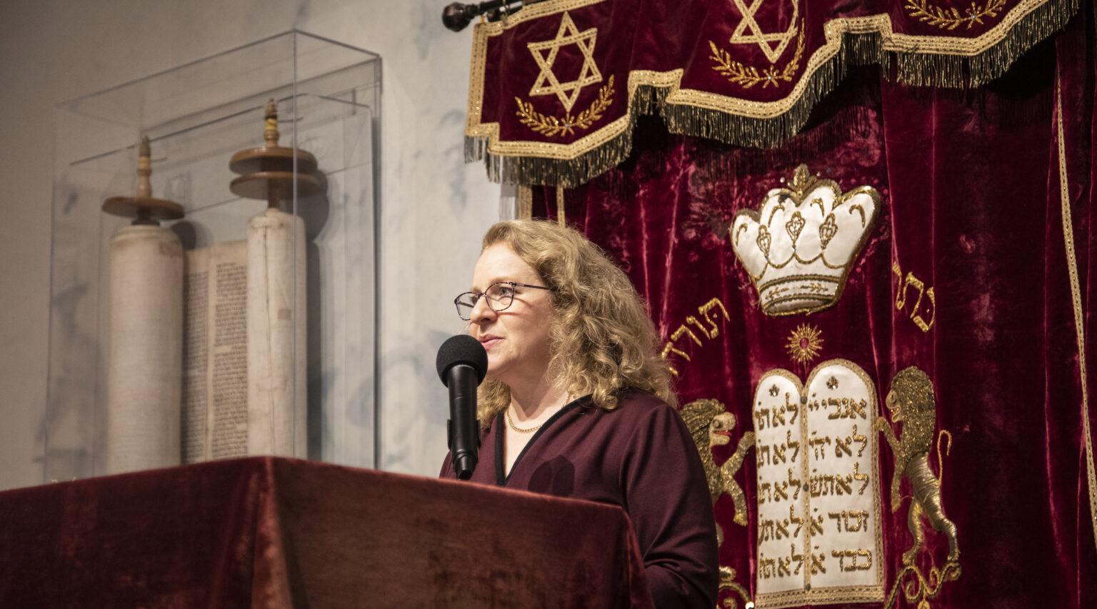 Rabbi Mary Zamore, the executive director of the Women's Rabbinic Network (Photo/JTA-Steve Shawl)